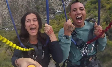 Screaming Like a Girl on The Nevis Swing – The World's Largest Swing