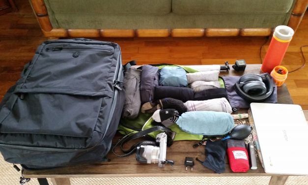 How to Pack Your Backpack for a 2-month Trip to Southeast Asia