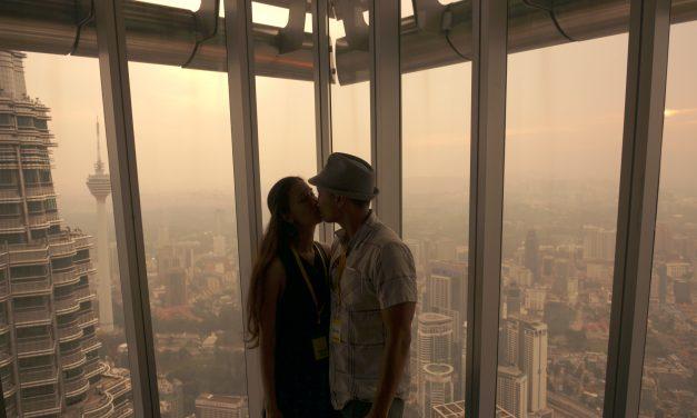 Visiting The Petronas Towers in Kuala Lumpur