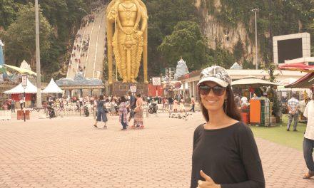 Batu Caves and the Dark Cave in Kuala Lumpur