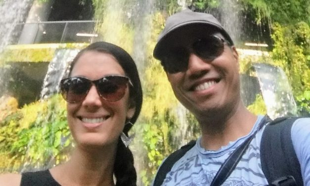 Visiting the Cloud Forest at Gardens by the Bay Singapore