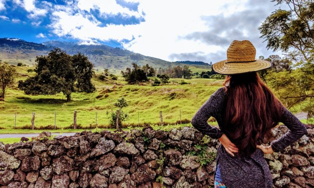 Hiking on Maui:  Keokea Thompson Road Walk